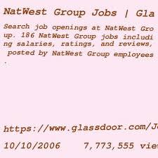 natwest careers login login page