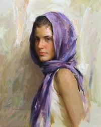 romel de la torre figure painter figurative paintings oil painters of america the portrait society of america american academy of art in chicago