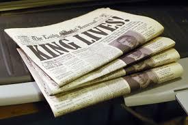 1960s Newspaper Template Making A Fake Newspaper Prop Agenda