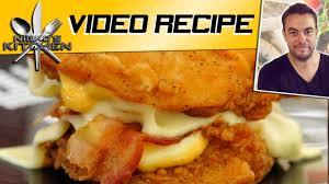 KFC Chicken Double Down - YouTube