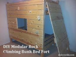 cool bunk bed fort. Cool Bunk Bed Forts Beautiful Diy Modular Rock Climbing Fort \u2013 Dad Vs Wild