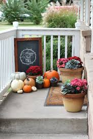 Fall Porch Decorating Our Fall Porch 2013 Fall Porch Decorating Ideas Love Of Family