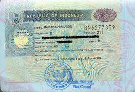 indonesia visa information