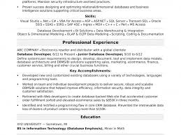 Database Developer Sample Resume Download Database Developer Sample Resume DiplomaticRegatta 22