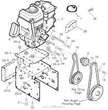 murray 536 889252 craftsman dual stage snow thrower (2004) parts snowblower engine diagram 536 889252 craftsman dual stage snow thrower (2004) engine ⎙ print diagram