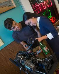 Lana condor and noah centineo give you a behind the scenes look at the making of the fair scene from to all the boys: Just 13 Photos Of Lara Jean Covey Peter Kavinsky Being Cute Irl