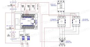 electrical wiring diagram forward reverse motor control and power Plc Panel Wiring Diagram Pdf electrical wiring diagram forward reverse motor control and power circuit using mitsubishi plc technovation technological innovation and advanced plc control panel wiring diagram pdf
