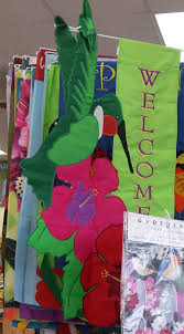 evergreen garden flags