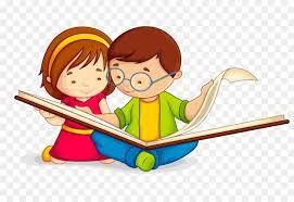 book reading child clip art child