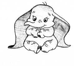 Disegno Di Un Elefante Schizzo A Matita Disegni Da Copiare Facili