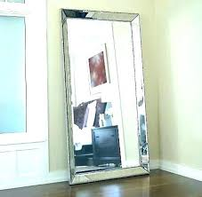 silver floor mirror. Silver Floor Mirror Leaning Wall Simple Decoration Mirrors Beaded .
