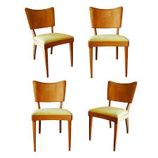 vintage heywood wakefield stingray dining side chairs set of 4 0553