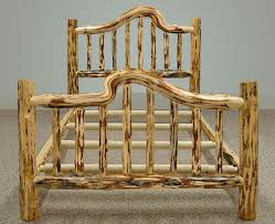 making rustic furniture. Log Bed Frame Plans Rustic Cabin Bedroom Decor With Elk Antler A DIY Solution Is Making The Particular We Furniture