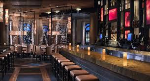 Authentic Japanese Restaurant Interior Design of Yellowtail, Las Vegas Bar