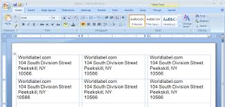 How To Print Avery 5160 Labels In Word Download Wl 875 Avery 5160 8160 Size Word Template