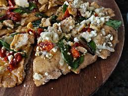 herb en terranean pizza