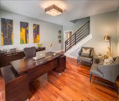 mid century modern office. simple mid gray color mid century modern home office to i