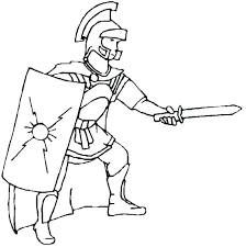 Roman Coloring Pages Soldier Coloring Page Soldier Coloring Page