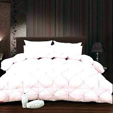 solid pink quilt twin queen comforter white grade a natural goose down bedding solid pink quilt