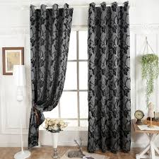 Living Room Window Curtains Popular Grey Curtain Fabric Buy Cheap Grey Curtain Fabric Lots
