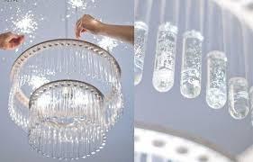 marvelous diy crystal chandelier diy crystal chandelier recipetiffany