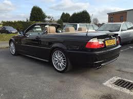 BLACK BMW 330CI CONVERTIBLE MSPORT AUTOMATIC E46 FULL SERVICE ...