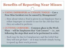 How To Increase Near Miss Reporting