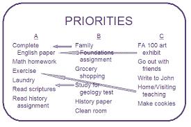 Homework To Do List Managing Time