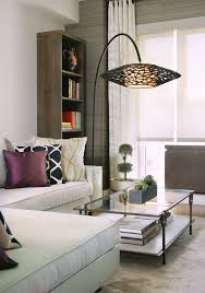 living room floor lamp. floor lamp decor living room contemporary with bold patterns white sofa l