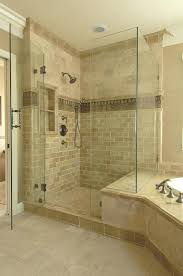 shower tile trim another example of shower bench joining tub surround note the tile accent in