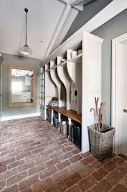 Charming English farmhouse | Sims Hilditch I love the paint color and  flooring with white trim