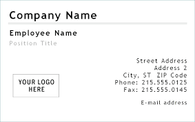 Business Card Template For Word 2007 Best Free Business Card