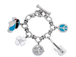 brand mens watches lucky brand women s silvertone dangle charm watch new