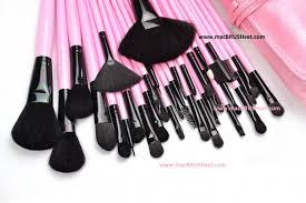 2016 professional mac brush set 32 pcs in pink