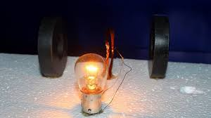Magnet Copper Wire Light Bulb Generator With 12v Light Bulb Using Magnet And Copper Wire