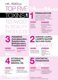 toxic chemicals in cosmetics