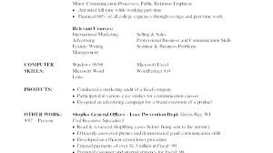 Skills Sample Resume Office Skills List Resume Sample Resume Skills Impressive Computer Skills To List On Resume