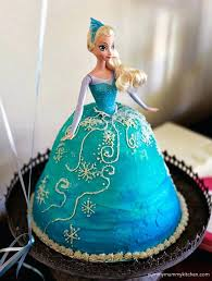 Frozen Birthday Cakes For Girls The Pretty Princess One Cake
