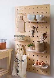 Kitchen: Cool Diy Kitchen Pegboards - Kitchen Storage