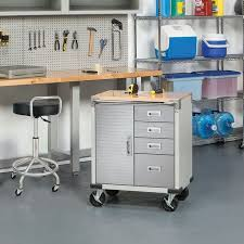 metal storage cabinet with drawers. Seville 4-Drawer Rolling Garage Steel Metal Storage Cabinet Tool Box Work Bench With Drawers W
