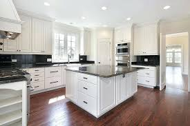 granite countertops with white cabinets stunning white refinish kitchen cabinets with black granite and white mirror