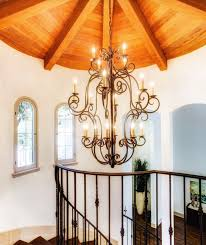 mediterranean style lighting. Custom Wrought Iron Chandelier For A Los Angeles Mediterranean Style Home. Laura Lee Designs Lighting E