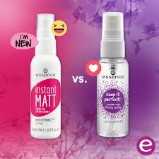 essence cosmetics uk on twitter make sure your makeup stays put with one of our setting sprays the new instant matt will be joining the essence range