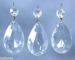 teardrop crystal chandelier 3 light raindrop parts