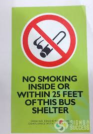 custom no smoking sticker signs for success in spokane has quite a few layouts for