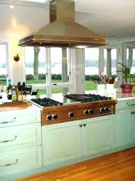 gas cooktop island. Cooktop Island Wolf Range Top Kitchen With Stove Hood Over How To Vent A Gas . N