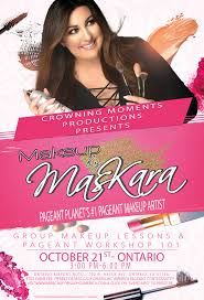 makeup by maskara group makeup lesson pageant 101 work ontario