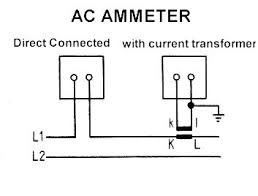 ac amp meter wiring diagram ac wiring diagrams ammeter voltmeter transducer meters wire diagram