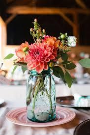Wedding Floral Arrangements Mason Jars : Beautiful mason jar wedding  centerpieces weddingomania