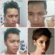 pinoys joins the make up transformation craze with a frantic transformation facebook